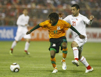 Chile Zambia WCup Soccer