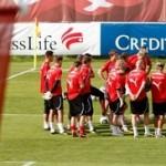 Suiza se alista para Costa Rica