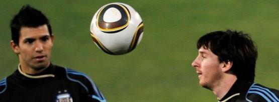 Kun Aguero Messi
