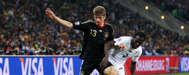 Alemania Ghana
