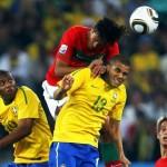 Brasil Chile y España Portugal en octavos