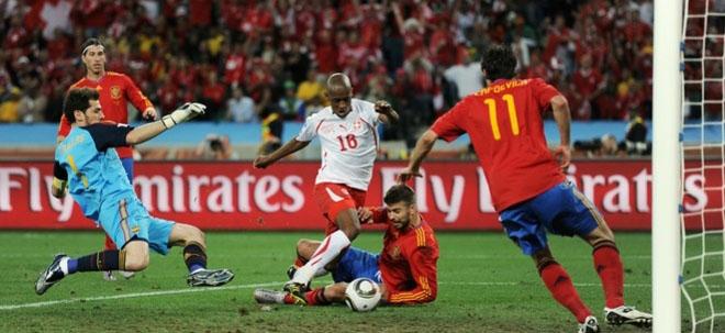 Gol Suiza España