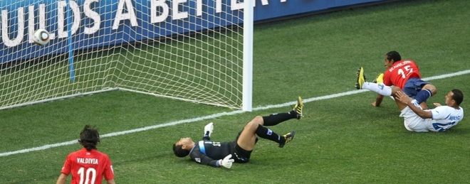 Gol Chile Honduras