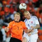Holanda acabó sueño de Eslovaquia