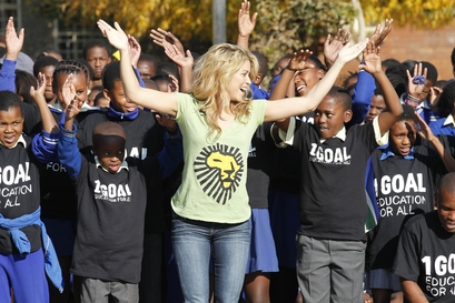 South Africa WCup Soccer Shakira