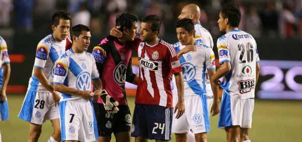 Accion Puebla Chivas USA Super Liga 2010