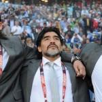 Fue una trompada de Alí: Maradona