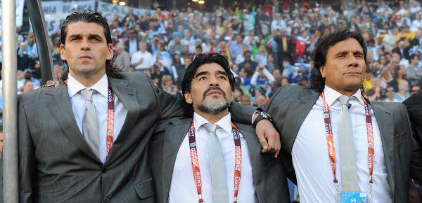 Asistentes de Maradona