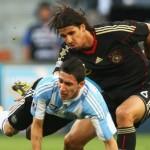 Alemania espectacular, Argentina humillada