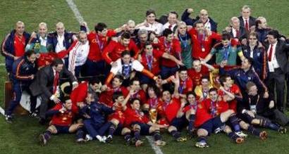 España Campeón del Mundo