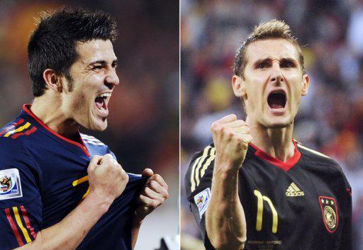 David Villa Miroslav Klose