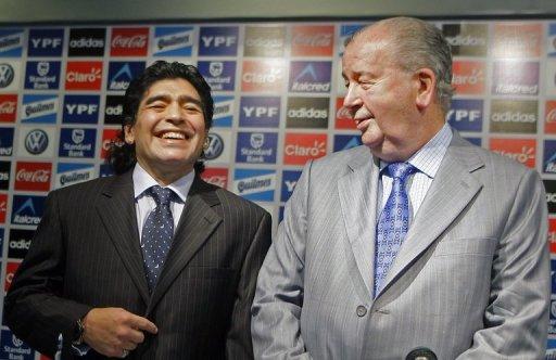 Diego Maradona Julio Grondona