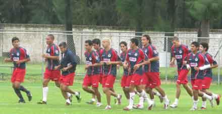 Entreno Chivas