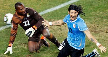 Gol Abreu ante Ghana