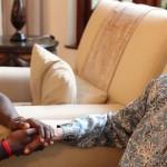 Mandela compartió con la Selección de Ghana