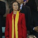 La Reina Sofía celebró en los vestuarios