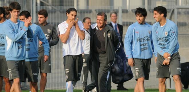 Uruguay previo a Holanda