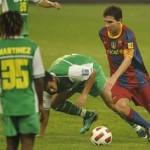 Barcelona goleó al Beijing Guoan del Pery Martínez