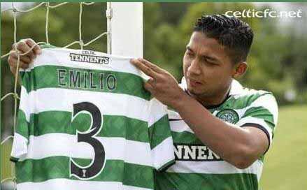Celtics Emilio Izaguirre