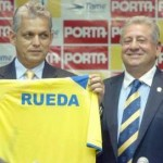 Rueda repitió el mismo discurso en Ecuador