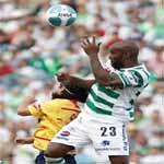 Santos-Columbus duelo de invictos en el Grupo «B»
