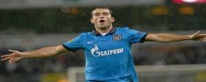 Aleksandr Kerzhakov, le metió tres al Anderlecht