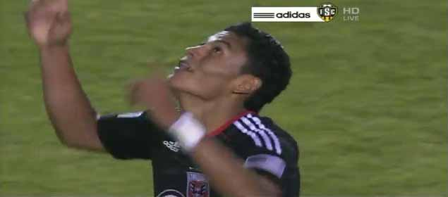 Andy Najar Gol Galaxy