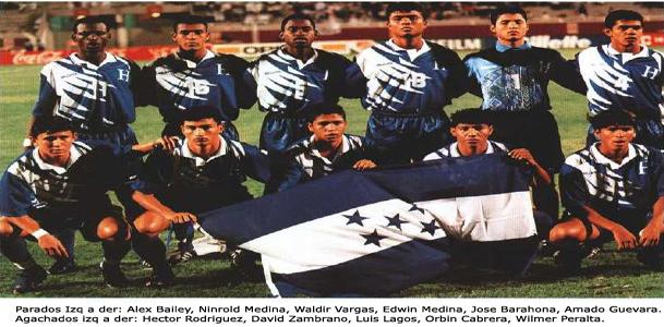 Honduras WCU20 Qatar 1995