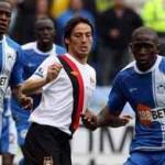 Manchester City sacó renta de los errores del Wigan