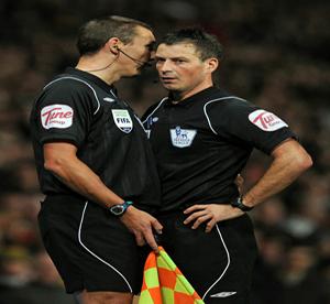 Arbitro Mark Clattenburg ManU Tottenham
