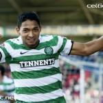 Emilio Izaguirre anotó en triunfo del Celtic