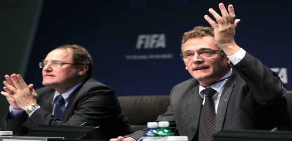 Fifa Claudio Sulser Jerome Valcke