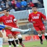 Gol de Rambo, da título al Shandong Luneg