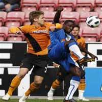 Maynor Figueroa contra Wolverhampton