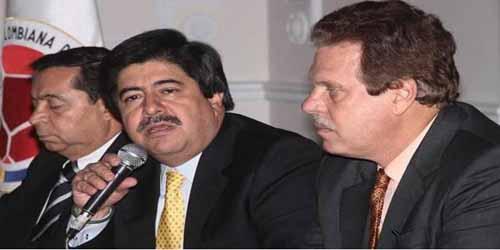 Luis Bedoya Alvaro Gonzalez Ramon Jesurun
