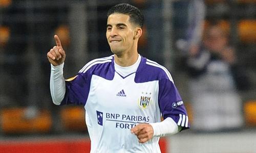 Mbark Boussoufa Anderlecht