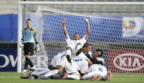 Celebracion U17 Honduras