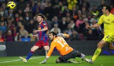 Gol de Messi Villarreal