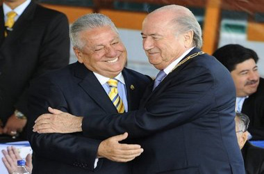Joseph Blatter Luis Chiriboga
