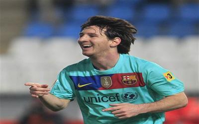 Lio Messi contra Almeria