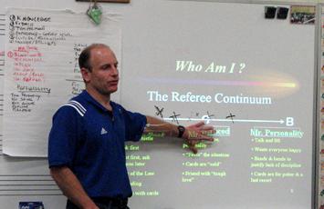 Arbitro Brian Hall