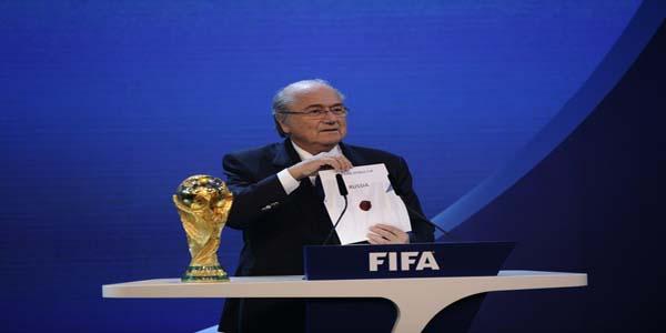 Blatter Anuncia sede Mundial 2018