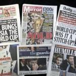 Prensa inglesa indignada con FIFA