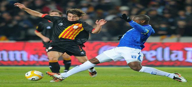 Erick Norales contra Bojan Krkic que metió dos goles