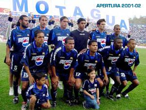 Motagua 2001 2002