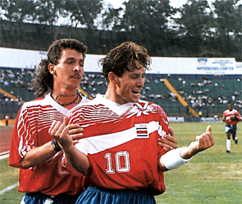 Rolando Fonseca Costa Rica