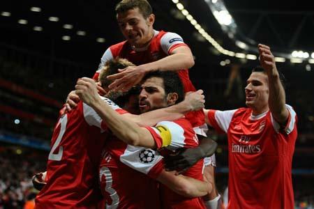 Barcelona Arsenal Champions League
