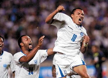 Celebra de Leon gol ante Ecuador