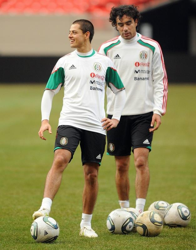 Edgardo Dueñas y Javier Hernández