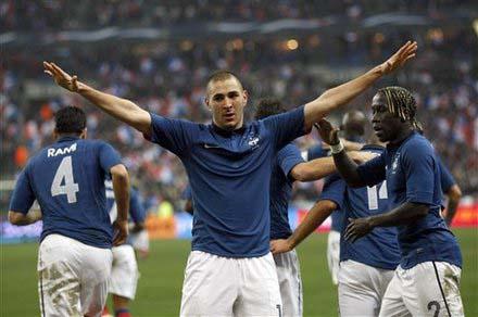 Karim Benzema Francia
